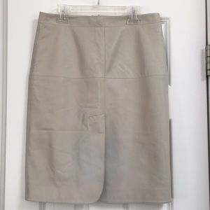 Women's Armani Leather Skirt